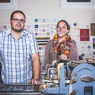 Laughing Owl Press, custom letterpress printing, Kane PA